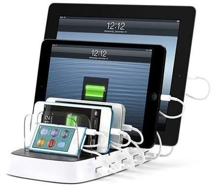 Griffin's multi-device charging station now shipping