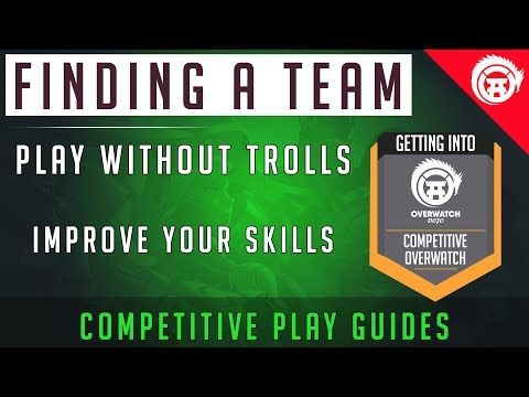 Overwatch How To Find a Team, Play Trials, And Get Into a Team - Competitive Gaming - http://freetoplaymmorpgs.com/overwatch-online/overwatch-how-to-find-a-team-play-trials-and-get-into-a-team-competitive-gaming