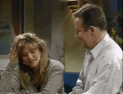 Jan Hooks and Phil Hartman could barely look at each other: | This Supercut Of SNL Actors Breaking Character Is Amazing