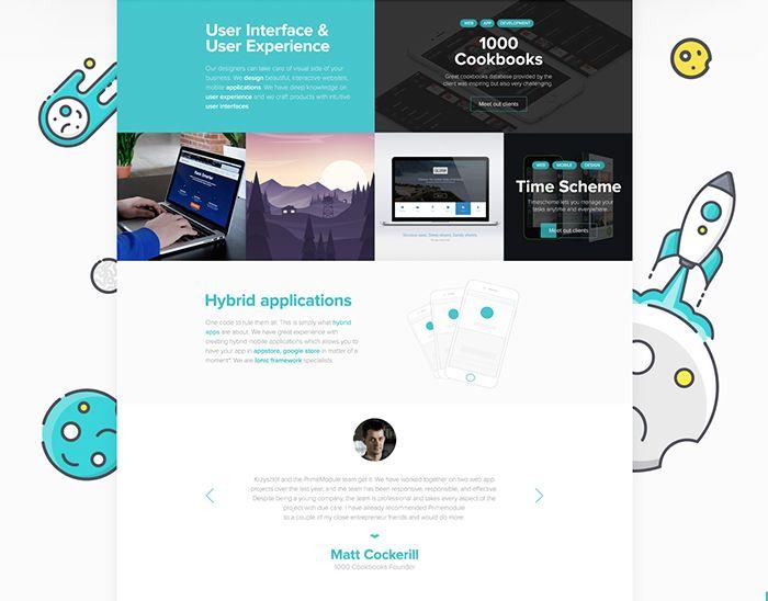 """Popatrz na ten projekt w @Behance: """"PrimeModule Website Redesign"""" https://www.behance.net/gallery/37906705/PrimeModule-Website-Redesign"""