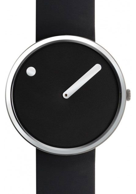Rosendahl Picto Black/Steel Watch - Free Shipping from Watchismo.com*