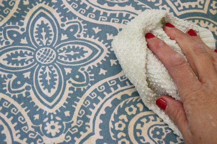 Starched Fabric Wall Treatment Tutorial