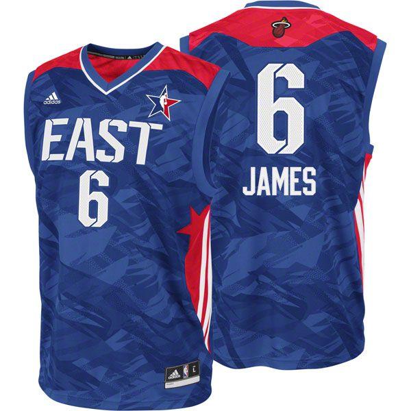 GearCloset.net - LeBron James adidas NBA 2013 Eastern Conference All-Star Replica Jersey adidas