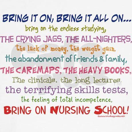 Nursing School Quotes Inspirational. QuotesGram