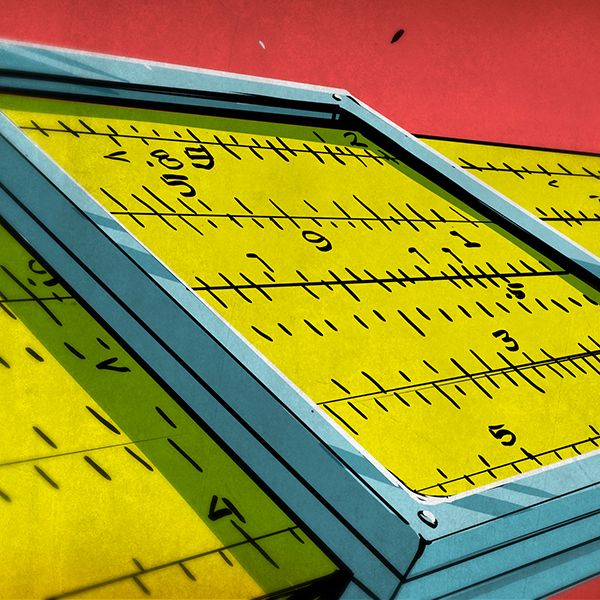 Unless you are above a certain age, the only time you may have seen a slide rule (or a slip stick, as we sometimes called them) is in the movies.