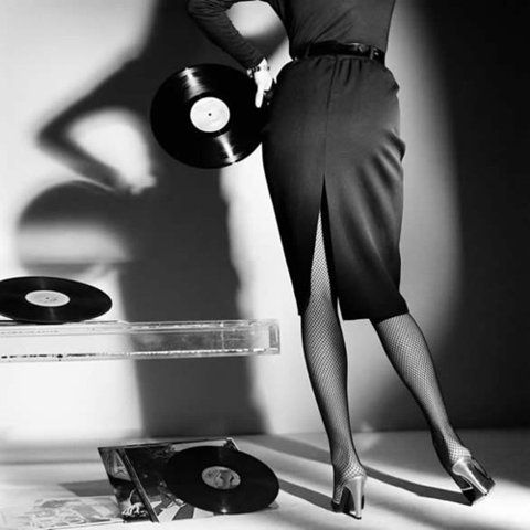 via ffffound: Black N White, Italian Vogue, Let Dance, Old Records, Gian Paolo, Gianpaolo, Senior Pics, Vintage Art, Paul Barbers