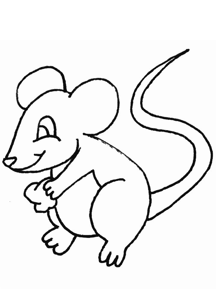 nice mouse free pictures to colors printable