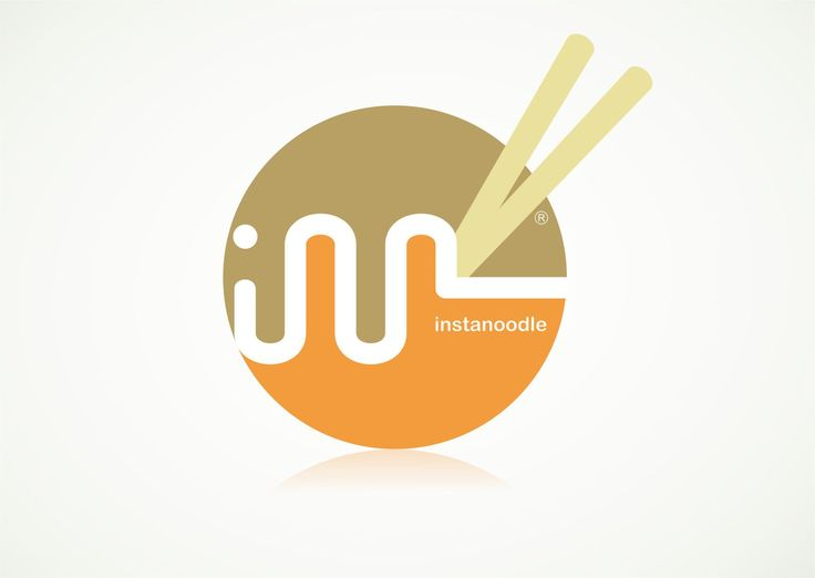 Instanoodle - Logo Design By Ronny Achmαϑ #logo #design #inspiration