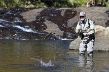 Wild Trout Association - Rhodes. Fly fishing for wild trout and smallmouth yellowfish on more than 350 km of running water and 120ha of still water in the Highlands of the North-Eastern Cape. Accommodation and guides can also be arranged through the Association.
