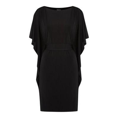 Biba Frill Sleeve Jersey Dress