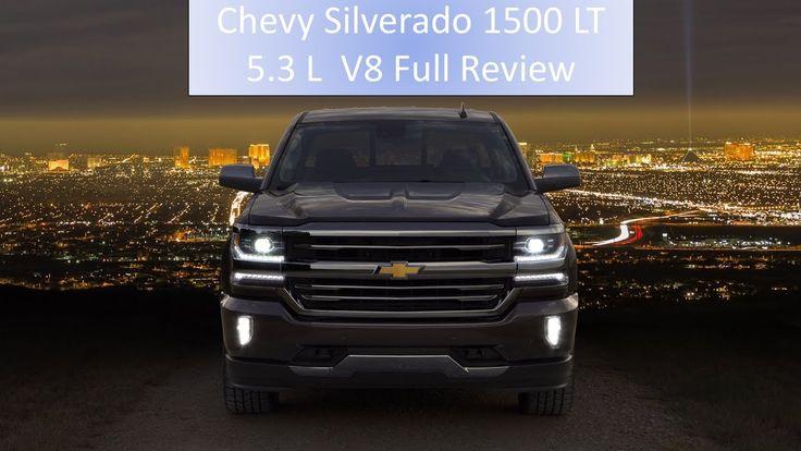 2017 Chevy Silverado 1500 LT 5.3 L V8 Full Review: Engine Start & Full V...