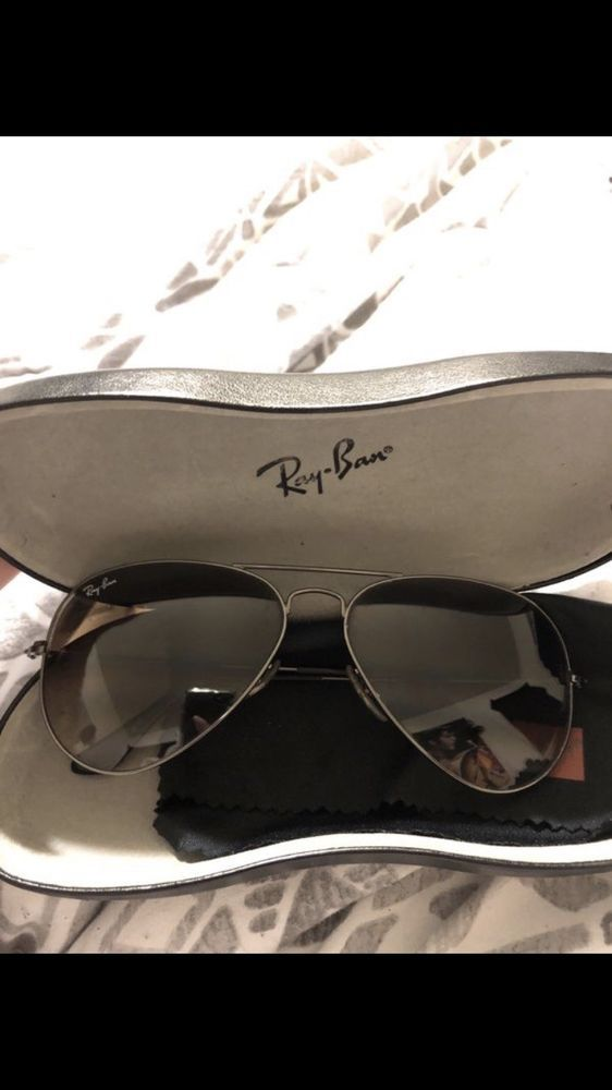 da95163571f3 Ray-Ban RB3025 W3277 58mm Silver Mirror Aviator Sunglasses