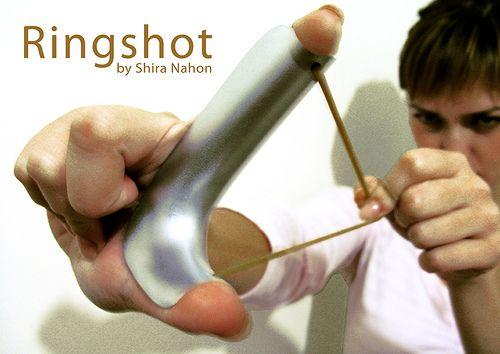 Ringshot turns your hand into a Slingshot
