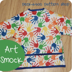 Art Smock: 3 Sleeve Options!