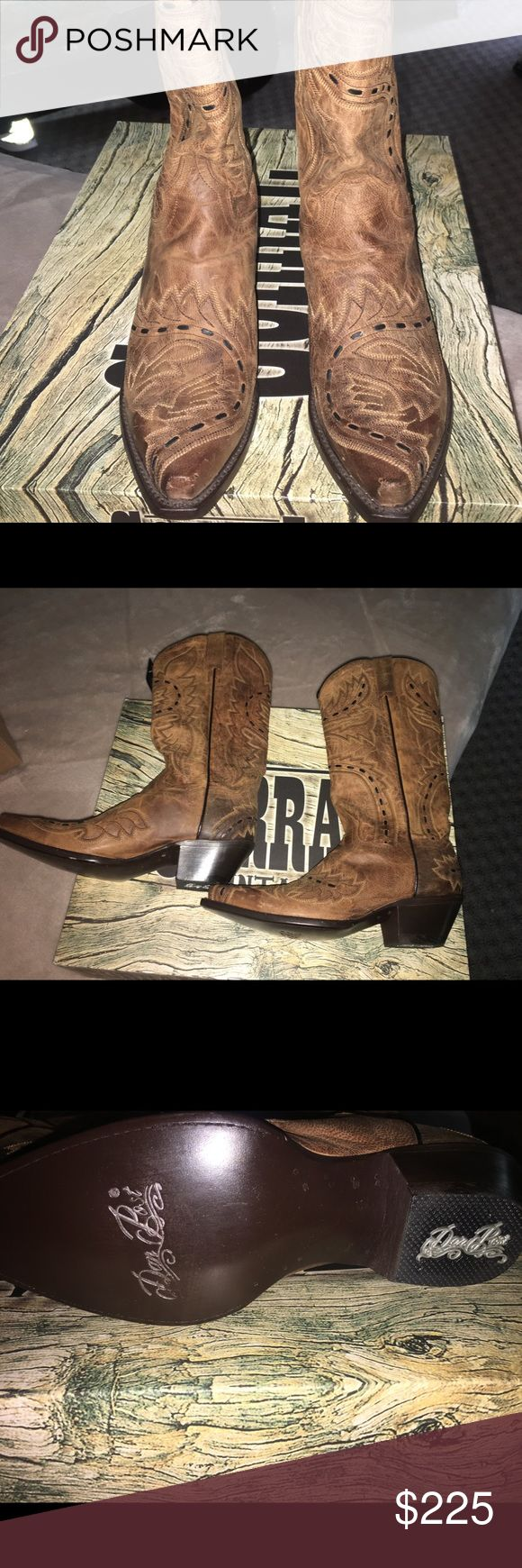 BRAND NEW SIZE 8 Dan Post cowboy boots BRAND NEW SIZE 8 Dan Post cowboy boots! Never been worn. Still in bag in the box. Paid $299.00 Dan Post Shoes Heeled Boots