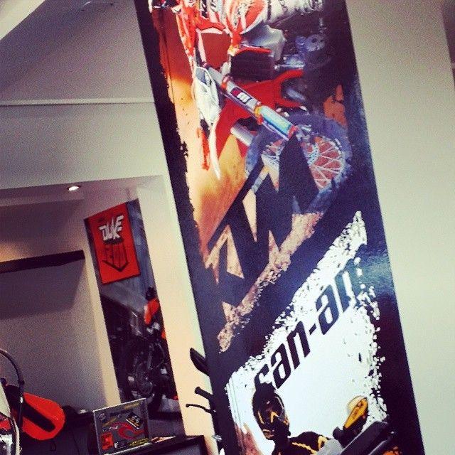 #diseño #ktm #canam #vinilo #pared