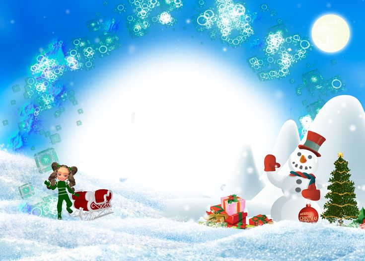 [Parte 3] Bajar Marcos para Fotografías Navideñas [Christmas Frames]