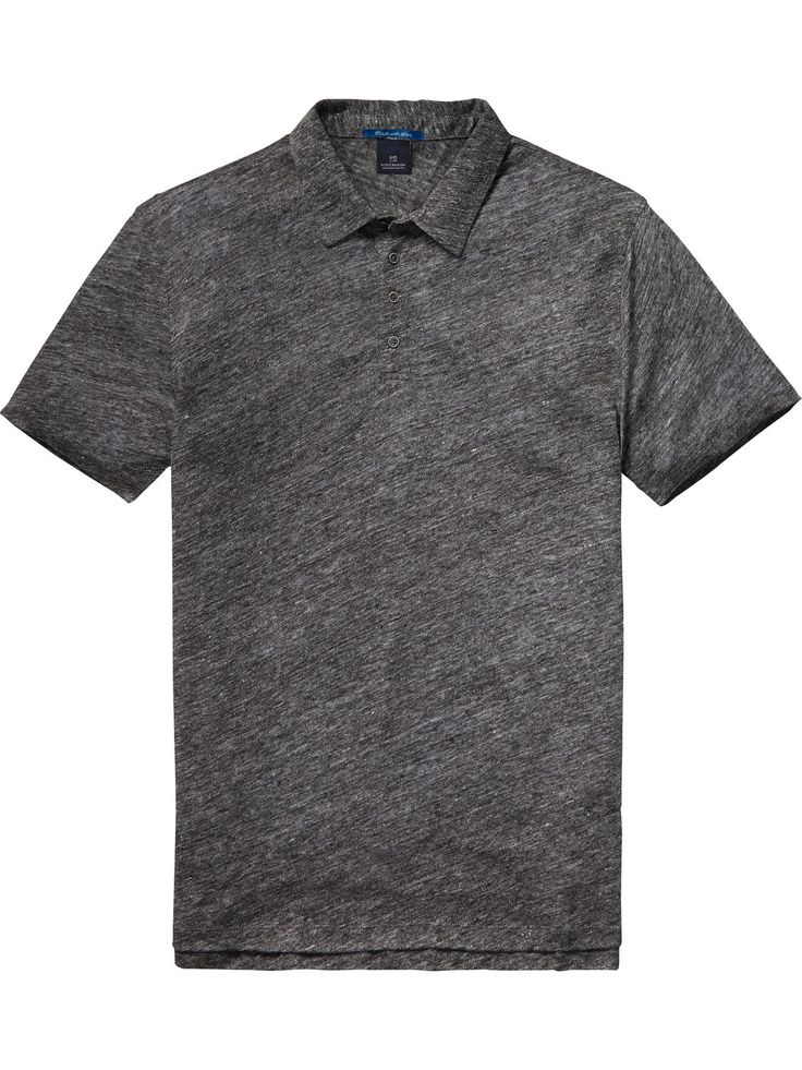 Linen Polo | Polo's | Men Clothing at Scotch & Soda