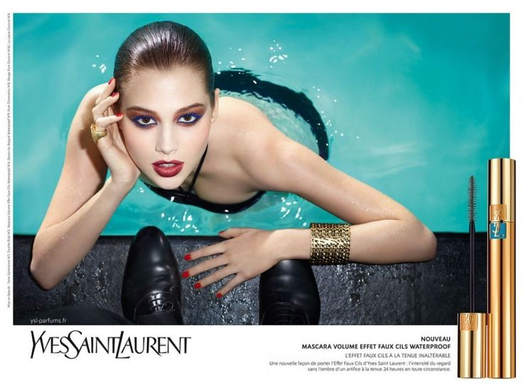 Swimming Pool | YSL | Publicis * Photo by Terry Richardson