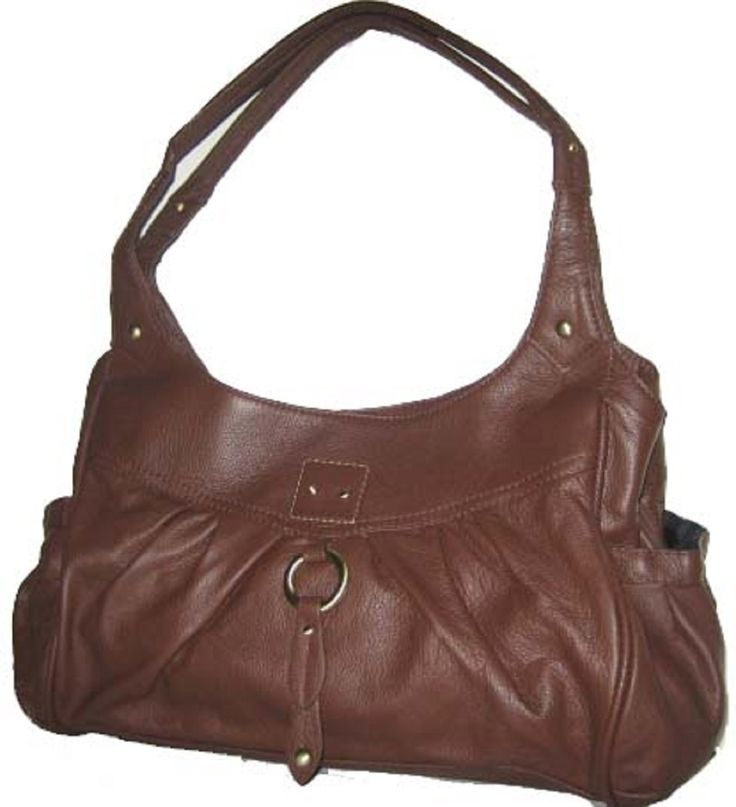 Right or Left Handed Locking Concealment Purse - CCW Concealed Carry Gun Bag (Brown) - Handbags, Bling & More!