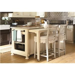 Paula Deen By Universal River House Kitchen Island With