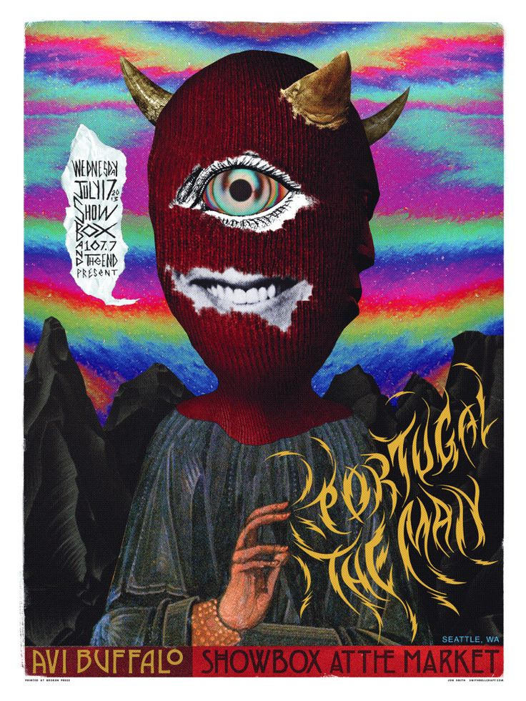 Jon Smith's 'Portugal. The Man' Poster (With images