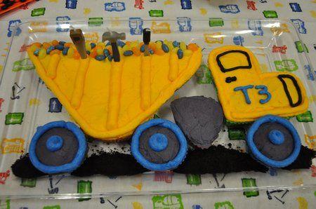 Dump Truck Pull Apart Cake Cupcake Cakes Pinterest