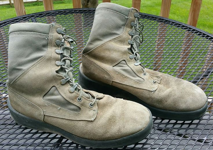 Wellco Air Force TW Military Combat Boots Shoes Men 11 R hunting fishing camping #Wellco #Military