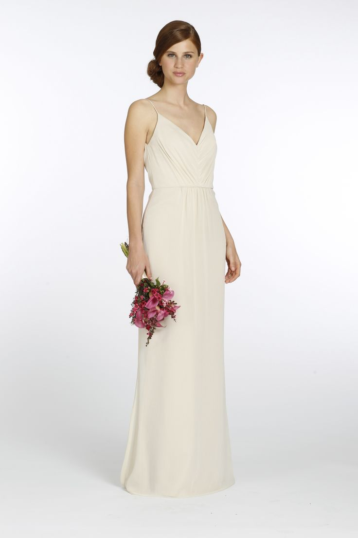 102 best wedding bridesmaid dress images on pinterest marriage pearl crinkle chiffon a line bridesmaid gown draped v neck bodice with natural ombrellifo Choice Image
