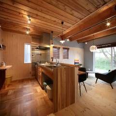 K's HOUSE: dwarfが手掛けたtranslation missing: jp.style.キッチン.scandinavianキッチンです。