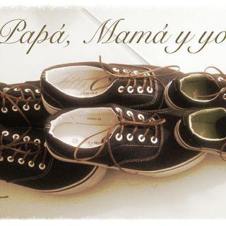 Zapatillas para mi mamá, para mi papá y para mí