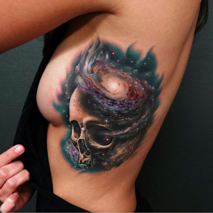 Skull galaxy tattoo                                                                                                                                                                                 More