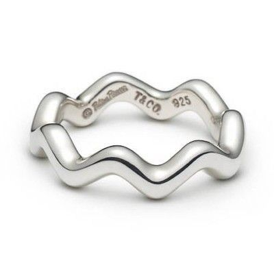 Tiffany and Co Ring Zig-zag Silver