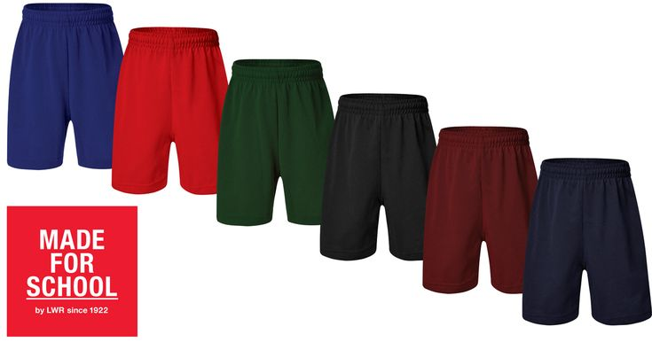 These rugby shorts are perfect for sport, school or play. In fact you'll have a hard time convincing them they can't sleep in them they're so comfy!