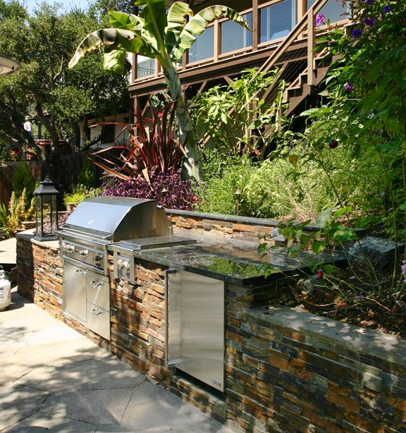 terraced patios