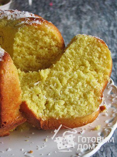 Рецепт Тыквенный кекс с кокосом