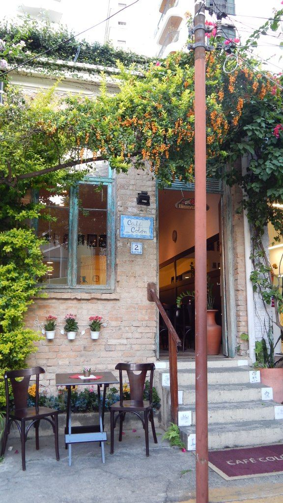 Café Colón, numa vilinha da Rua Alagoas, em Higienópolis #pinmycity