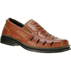 Men's Spring Step Alex Medium Brown Leather. A respectable casual breather for those of us wanting comfortable (temp wise) shoes for going out.