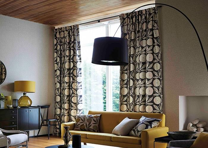 Classic and economical, single pleat curtain headings are ideal for small spaces and patterned fabric.
