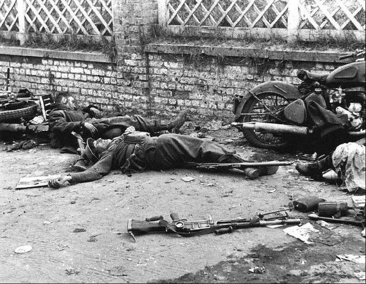 1940 - French soldiers killed in action