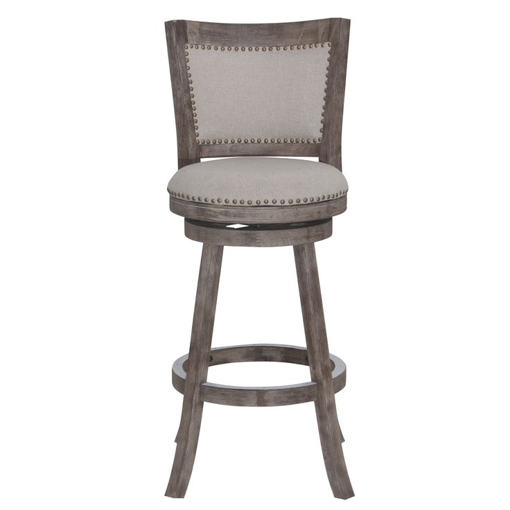 make a statement with the melrose barstool accentuated with the attractive multistep wirebrush