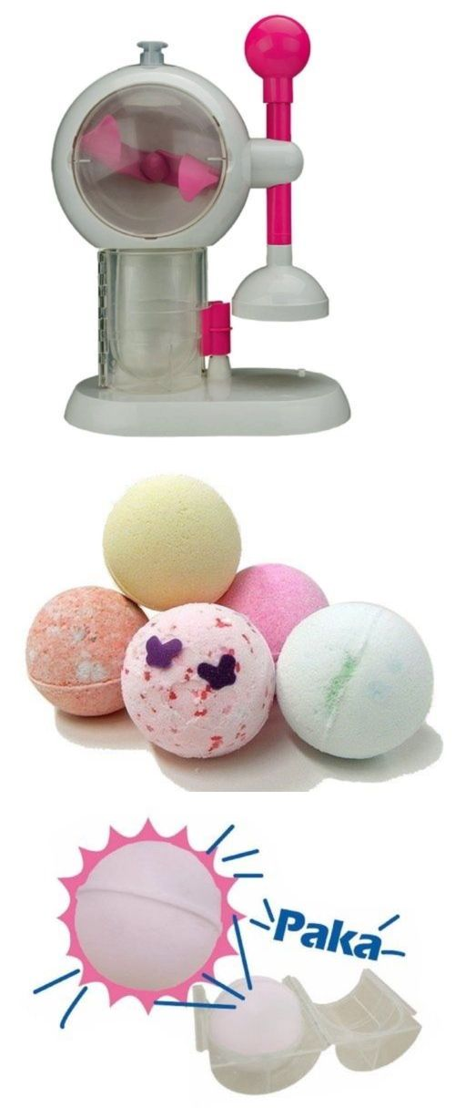 Bath Bombs and Fizzies: New Banpresto Bath Bomb Maker Homemade Machine Japanese BUY IT NOW ONLY: $106.06