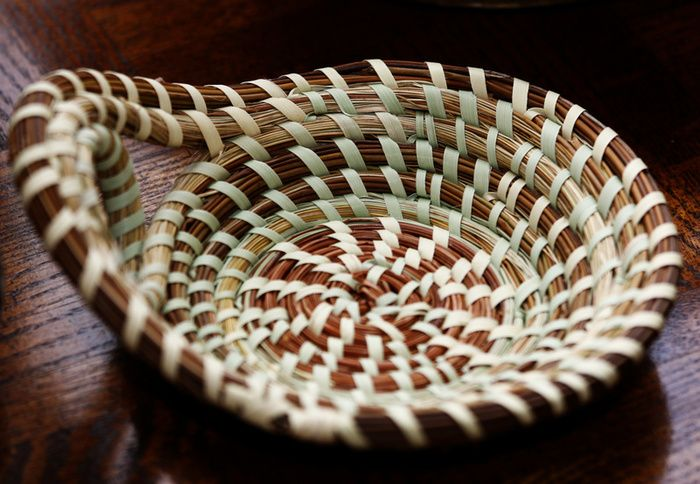 How To Weave A Sweetgrass Basket : Best images about sweet grass baskets on