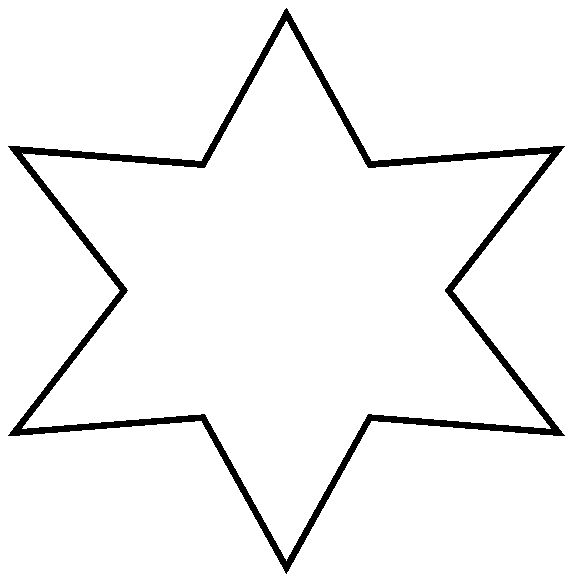 star shape pattern   Coloring Picture HD For Kids ...