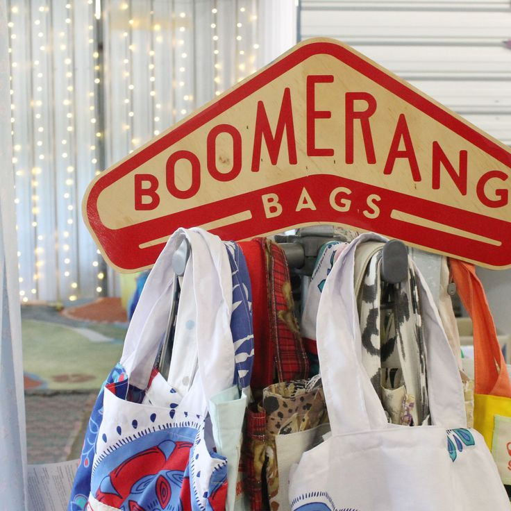 Such a cool innovative community initiative to curb plastic bag dependency.