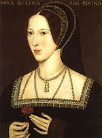 Wives of Henry VIII - Wikipedia, the free encyclopedia, Anne Boleyn