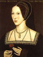 Wives of Henry VIII - Wikipedia, the free encyclopedia, Anne Boleyn