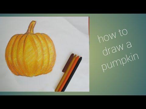 drawing step easy draw pumpkin vegetable vegetables drawings veggietables tk