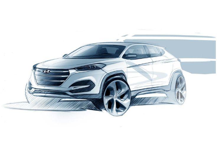 Hyundai Genesis New York Concept (2016) - Design Sketch - Pesquisa Google