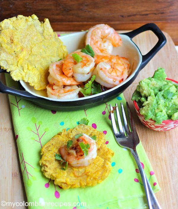 Camarones al Ajillo (Shrimp in Garlic Sauce)